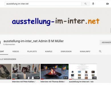 ausstellung-im-inter.net ist nun auch bei YouTube